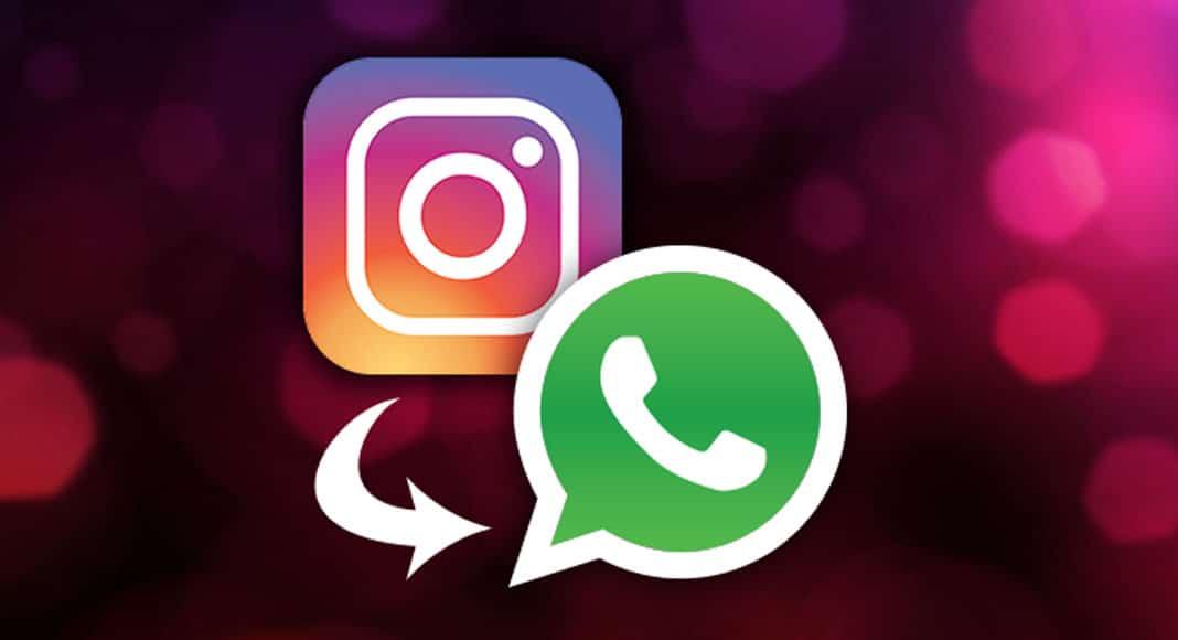 Novo teste do Instagram permite postar Stories diretamente no WhatsApp