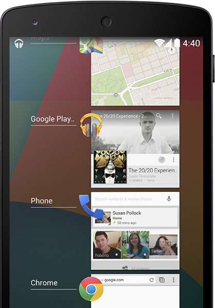 Android 4.4 KitKat promete apps mais leves.