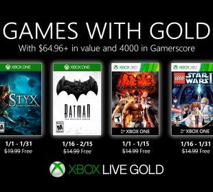Games With Gold Janeiro 2020