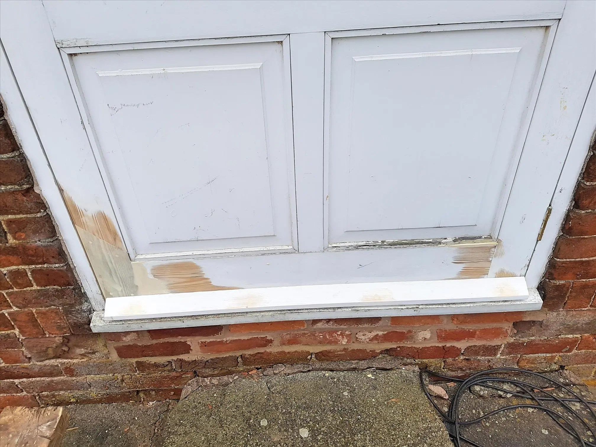 Large Farm House Door Repair