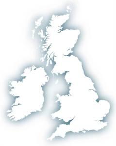 UK map minimal