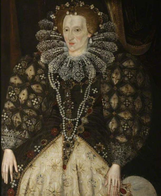unknown artist; Elizabeth I (1533-1603); Christ Church, University of Oxford; http://www.artuk.org/artworks/elizabeth-i-15331603-229064