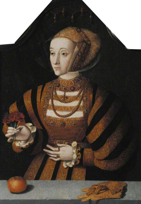 Bruyn the elder, Bartholomaeus; Anne of Cleves; Oxford College Anon II, University of Oxford; http://www.artuk.org/artworks/anne-of-cleves-223303