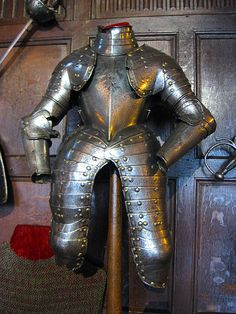 Alleged Armour of Lord Denbigh at Warwick Castle