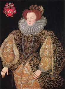 Lettice Knollys by Gower 1585