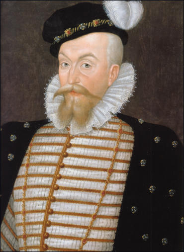 older Robert Dudley by unknown artist 1580