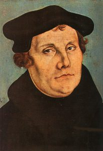 Marin Luther, by Lucas Cranach the Elder (Courtesy of WikiCommons)