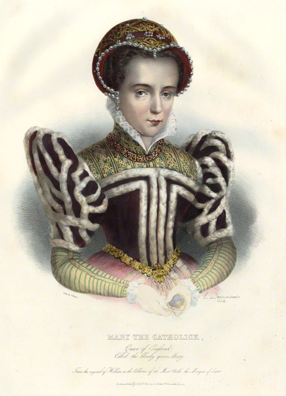 by �mile Desmaisons, printed by Fran�ois Le Villain, published by Edward Bull, published by Edward Churton, after Unknown artist hand-coloured lithograph, 1834 NPG D34627