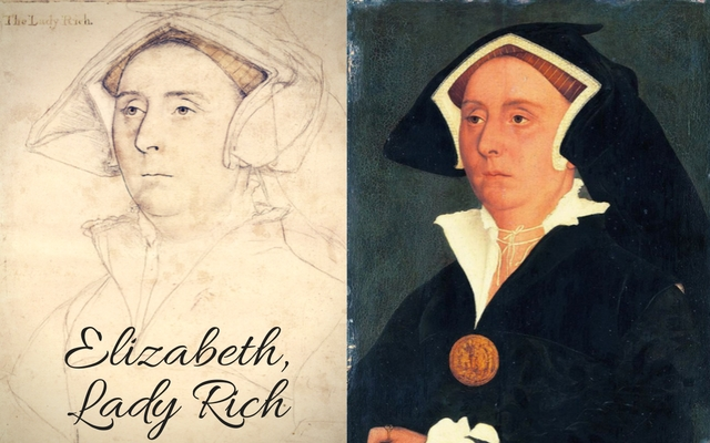 c.?1532 � c.?1543; a drawing of her husband, Richard Rich is in the Royal Collection