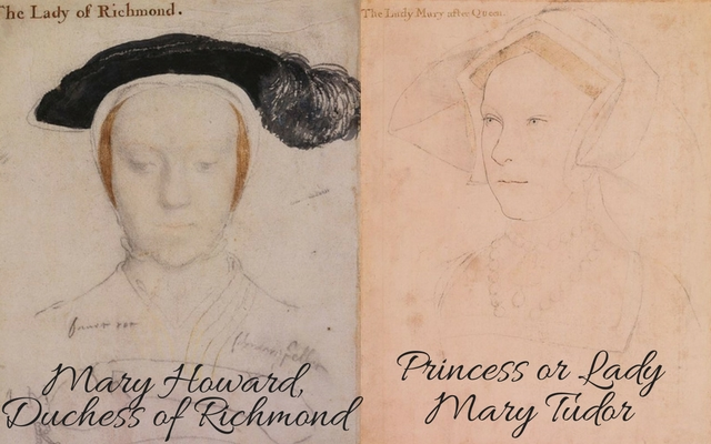 Mary Howard, c.?1532 � c.?1533 and Lady Mary Tudor, c. 1536