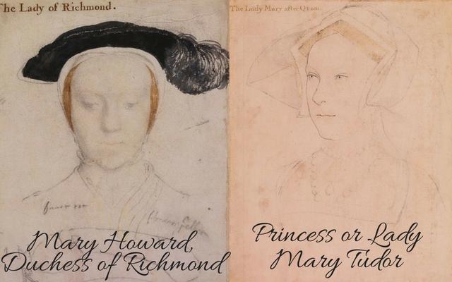 Mary Howard, c.?1532 � c.?1533 and Lady Mary Tudor, c. 1536