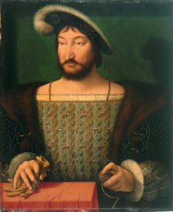 Joos van Cleve - Portrait of Francis I, King of France (ca. 1532-1533)