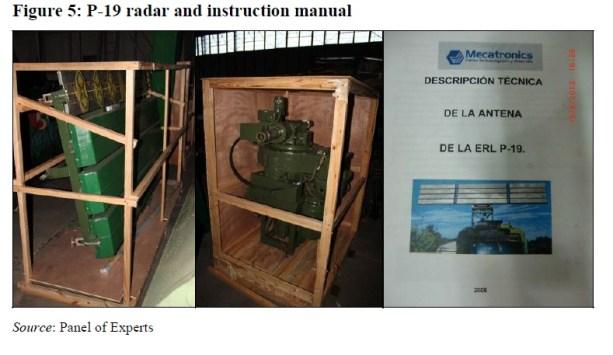 Radar e manual de instrução