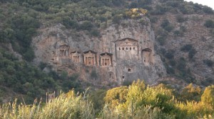 Felsengräber bei Fethiye
