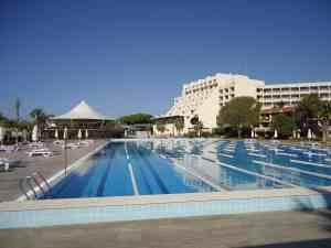 50m Becken im Sentido Zeynep Resort