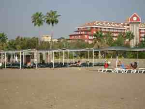 Strand des IC Santai
