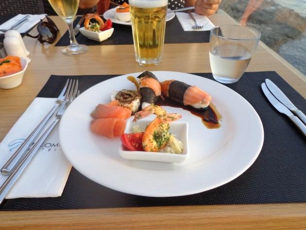 Sushi im Paloma Club Sultan
