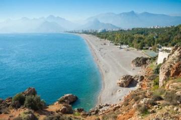Konyaalti Strand Provinz Antalya