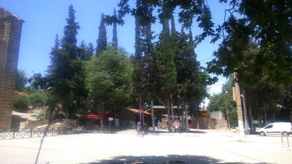 Aspendos, Eingang
