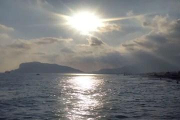 Strand Alanya Sonnenuntergang