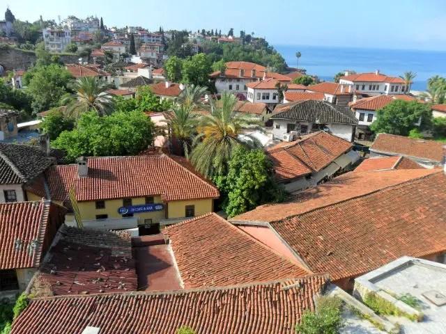Panoramablick Altstadt Antalya (Kaleici)