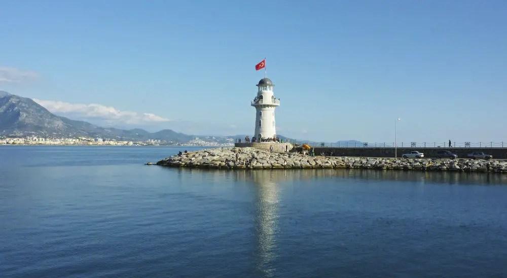 Leuchtturm in Alanya