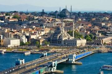 Panoramablick über Istanbul.