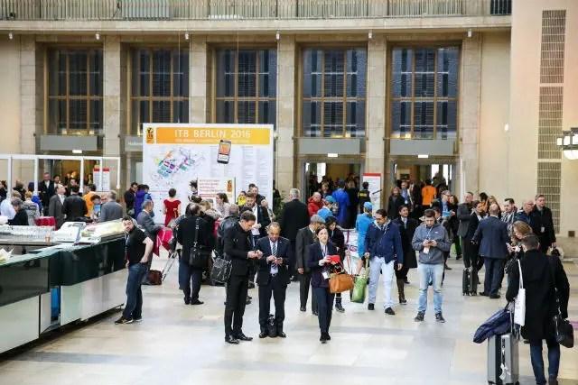 Eingangshalle der ITB Berlin