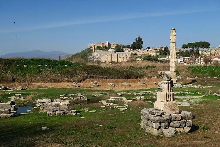 Ruinen des Artemistempel