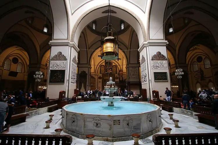 Brunnen in der Moschee