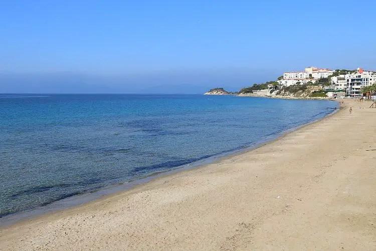 Ladies Beach Sandstrand und das Meer