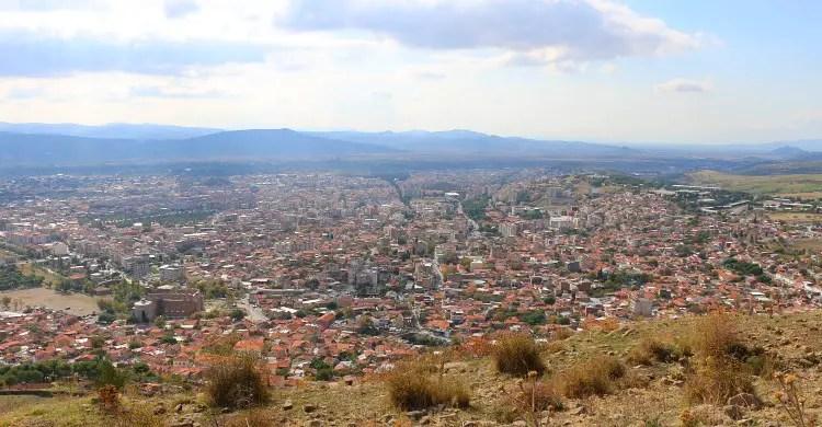 100.000 Einwohner Stadt Bergama