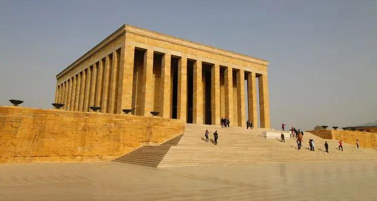 Anitkabir in Ankara, das Mausoleum von Mustafa Kemal Atatürk