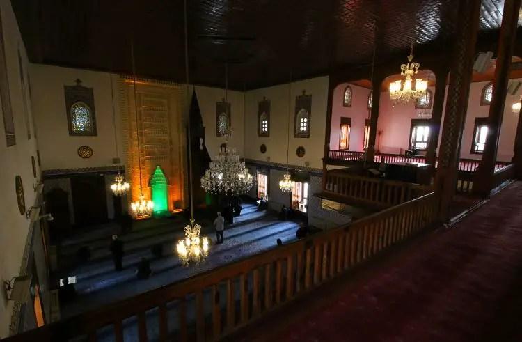 Gebetsraum der Haci Bayram Moschee