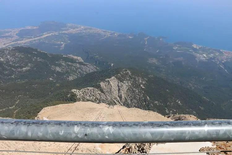 Ausblick Richtung Kemer und Camyuva