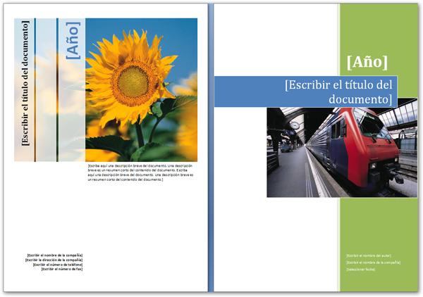 cómo hacer una portada de diseño con word 2007 softpaq