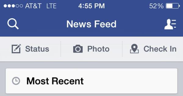 feed noticias Facebook