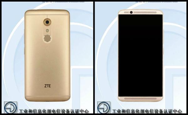 ZTE Axon 2 pantalla