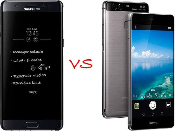 Samsung Galaxy℗ Note 7 vs Huawei℗ P9 Plus