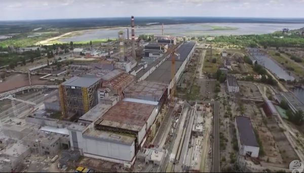 Chernobil planta solar