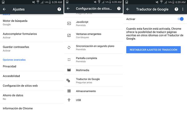 configurar traductor