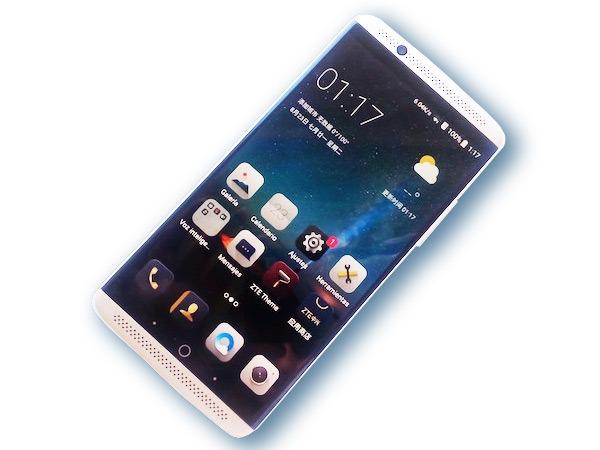 ZTE Axon 7 pantalla encendida