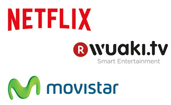 Netflix - Movistar℗ - Wuaki