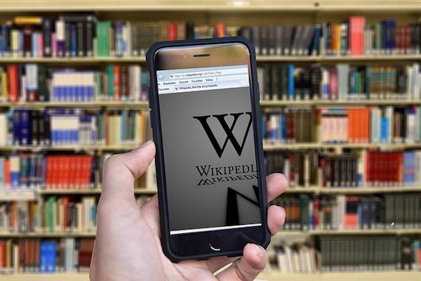 wikipedia móvil
