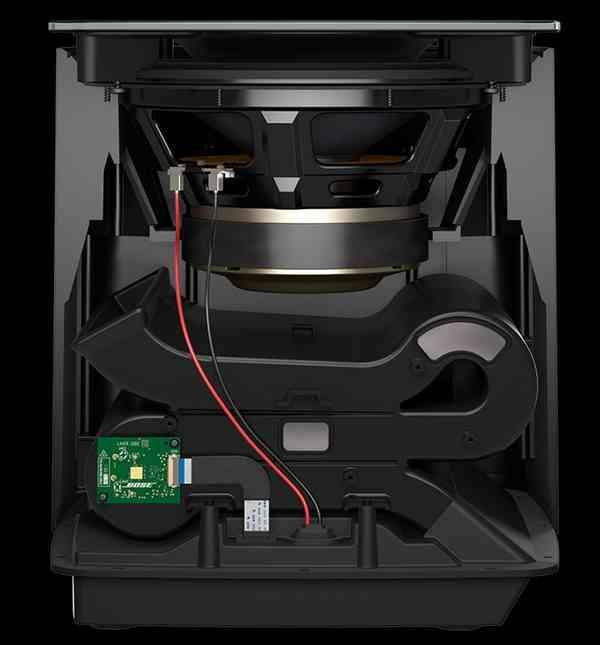 Bose LifeStyle 650: subwofer abierto