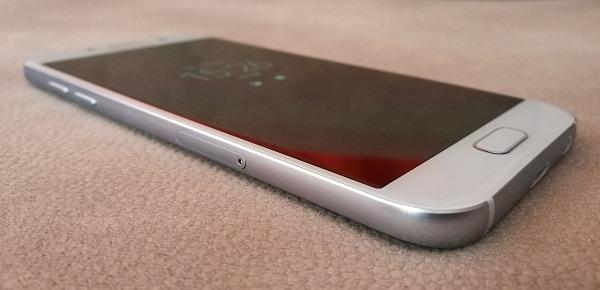 Samsung Galaxy℗ A5 2016 lateral boton inicio