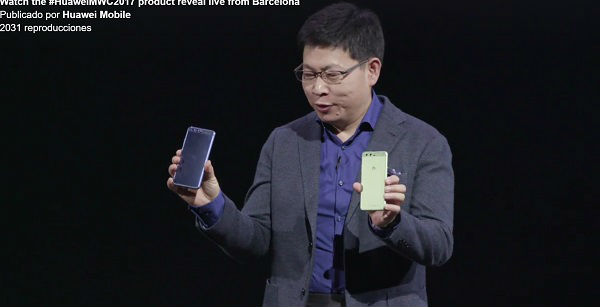 Huawei P10 Plus batería