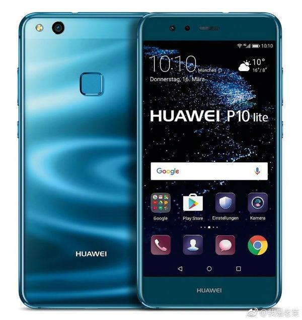 Huawei P10 Lite azul