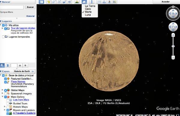 Google Earth marte
