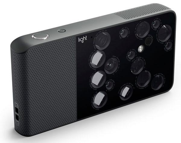 Light L16, una cámara con 16 objetivos y 52 megapíxeles